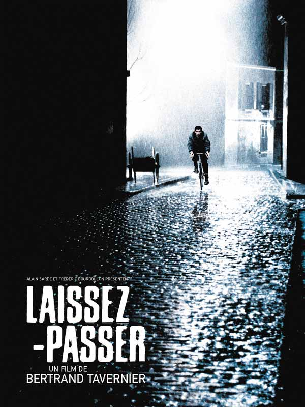 "poster for ""Laissez-passer"" by Bertrand Tavernier(2002)"
