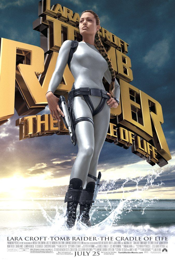"poster for ""Lara Croft Tomb Raider: The Cradle of Life"" by Jan de Bont(2003)"