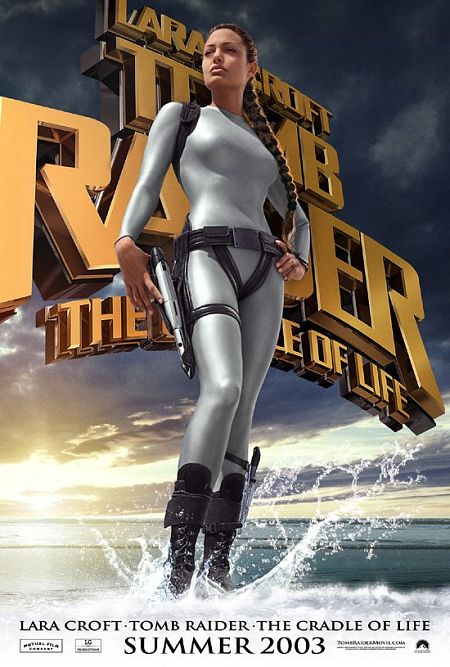 "poster for ""Lara Croft Tomb Raider: The Cradle of Life&quot"