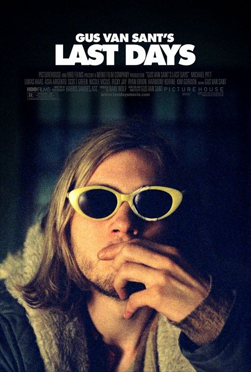 "poster for ""Last Days"" by Gus Van Sant(2005)"