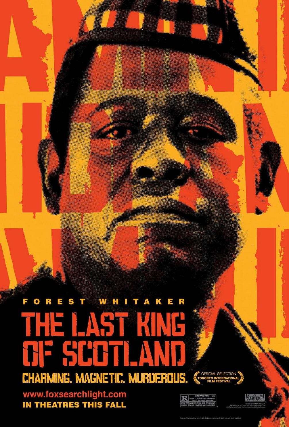 "poster for ""Last King of Scotland, The"" by Kevin Macdonald(2006)"