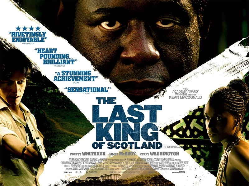 "poster for ""Last King of Scotland, The&quot"