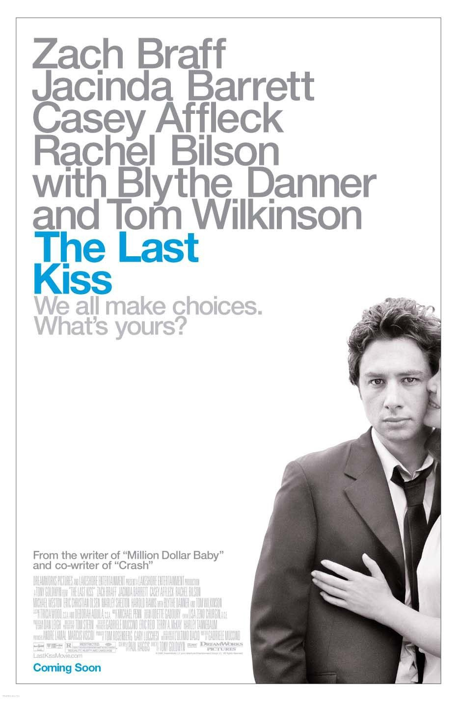 "poster for ""Last Kiss, The"" by Tony Goldwyn(2006)"
