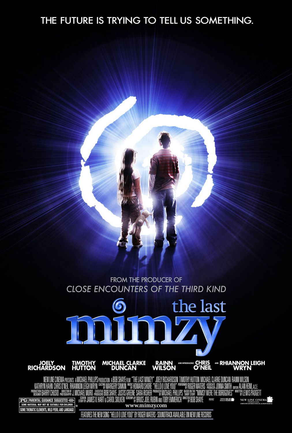 "poster for ""Last Mimzy, The"" by Robert Shaye(2007)"