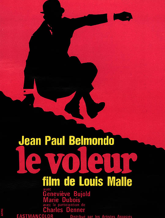 "poster for ""Voleur, Le"" by Louis Malle(1967)"