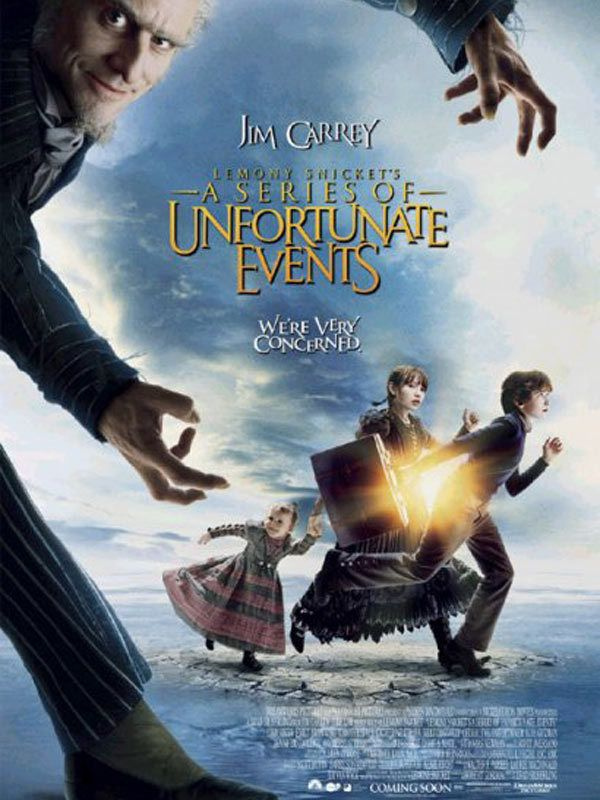 "poster for ""Lemony Snickets A Series of Unfortunate Events"""