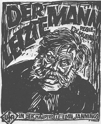 "poster for ""Letzte Mann, Der (Last Laugh, The )&quot"