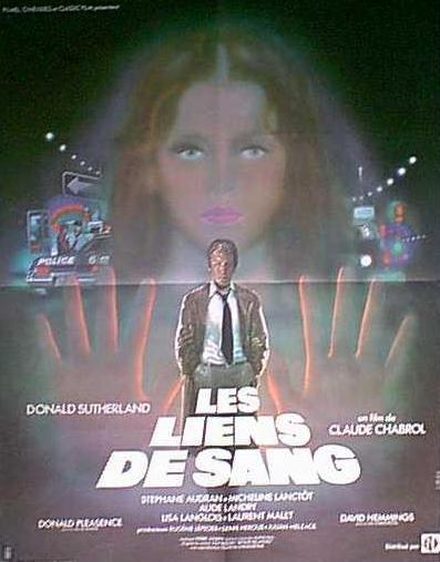 "poster for ""Liens du sang, Les (Blood Relatives)"" by Claude Chabrol(1978)"