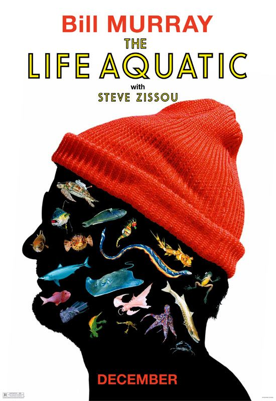 "poster for ""Life Aquatic with Steve Zissou, The&quot"