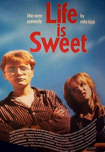 "poster for ""Life Is Sweet&quot"