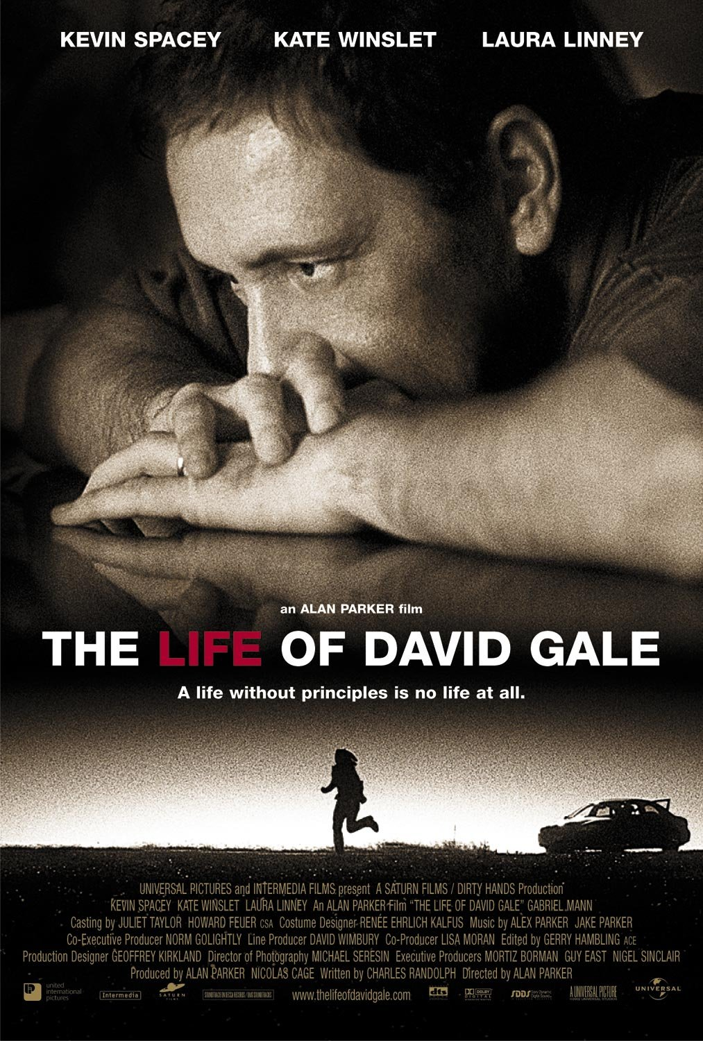 "poster for ""Life of David Gale, The"" by Alan Parker(2003)"