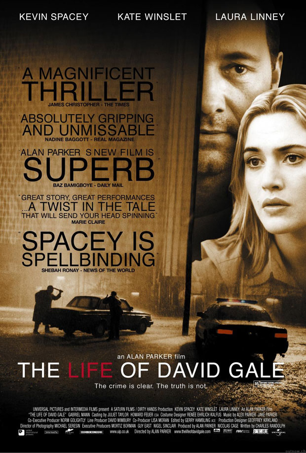 "poster for ""Life of David Gale, The&quot"