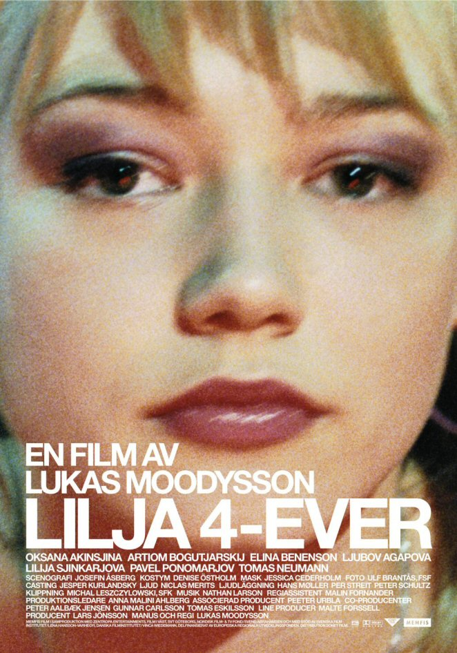 "poster for ""Lilja 4-ever"" by Lukas Moodysson (2002)"