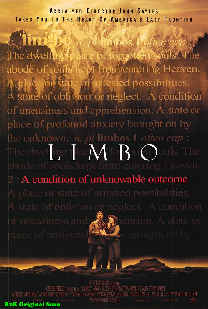 "poster for ""Limbo"" by John Sayles(1999)"