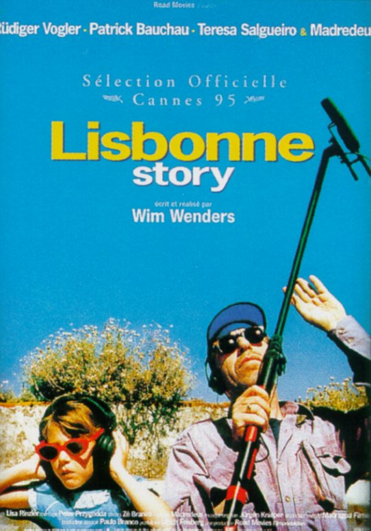 "poster for ""Lisbon Story"" by Wim Wenders (1994)"