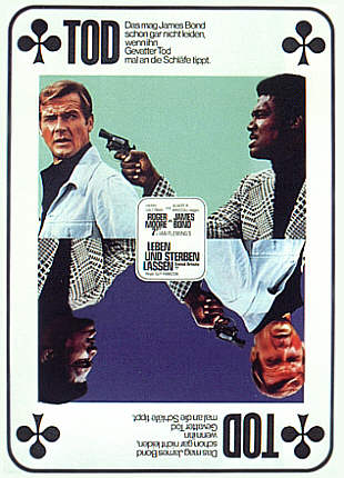 "poster for ""Live and Let Die"""