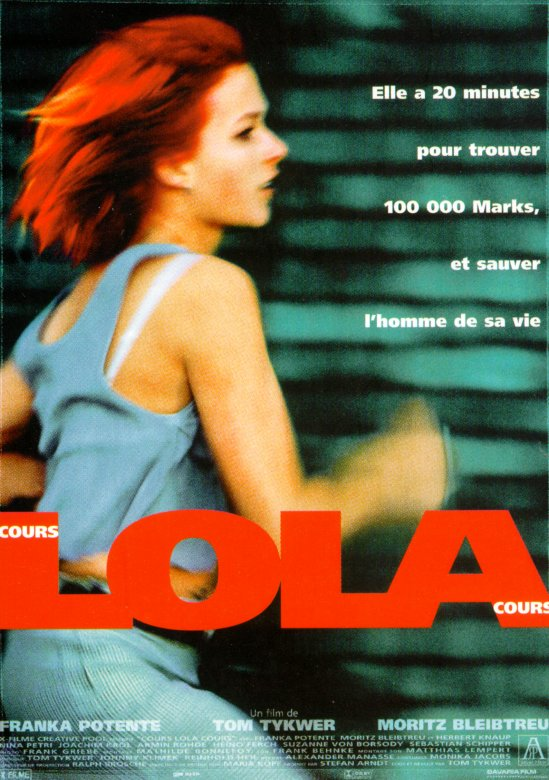 "poster for ""Lola Rennt (Run Lola, Run)&quot"