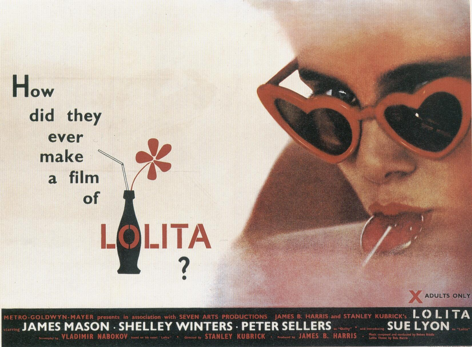 "poster for ""Lolita&quot"