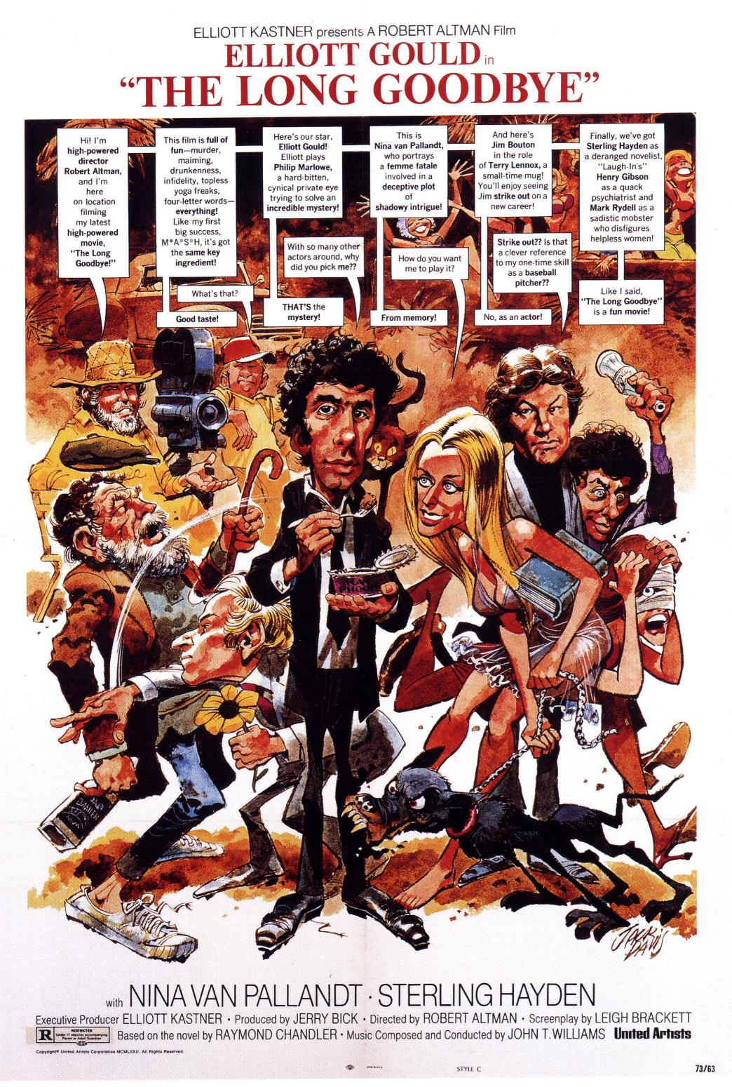 "poster for ""Long Goodbye, The&quot"