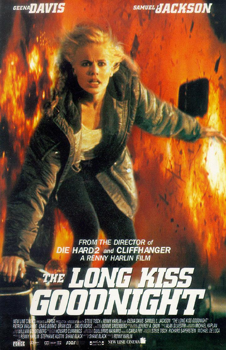 "poster for ""Long Kiss Goodnight, The"" by Renny Harlin (1996)"