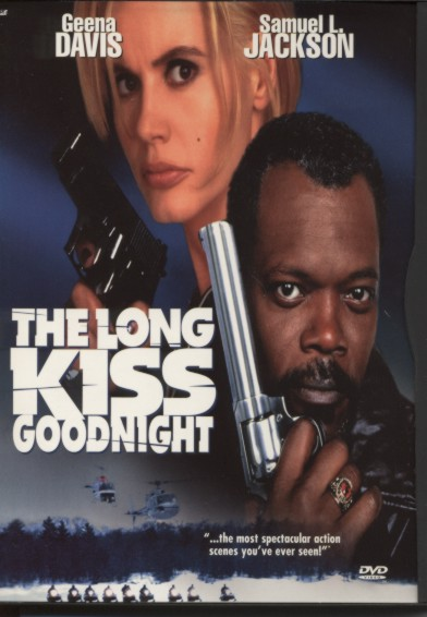 "poster for ""Long Kiss Goodnight, The&quot"