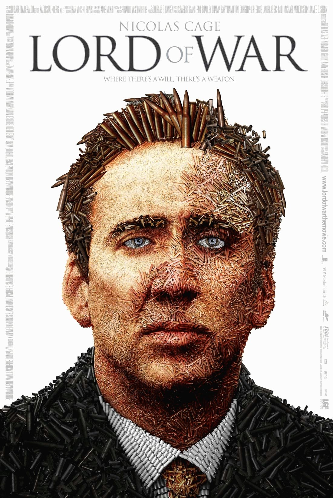 "poster for ""Lord of War"" by Andrew Niccol (2005)"