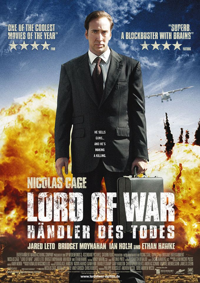 "poster for ""Lord of War&quot"