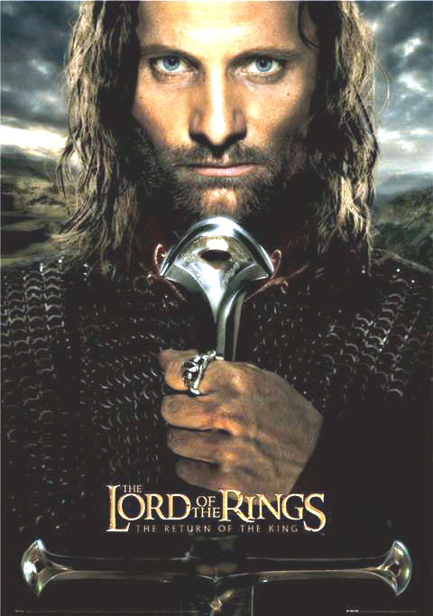 "poster for ""Lord of the Rings, The - Return of the King, The"" by Peter Jackson (2003)"