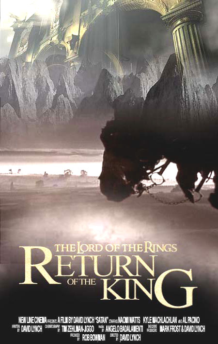 "poster for ""Lord of the Rings, The - Return of the King, The&quot"
