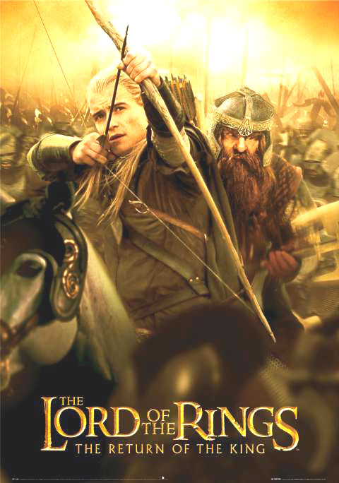 Movie Poster Lord of The Rings Poster For Lord of The Rings