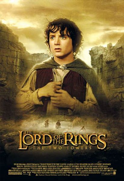 "poster for ""Lord of the Rings: The Two Towers, The&quot"
