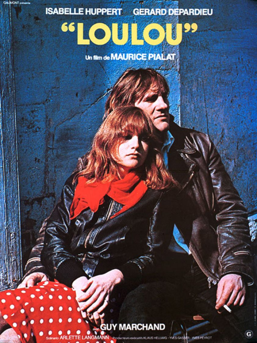 "poster for ""Loulou"" by Maurice Pialat(1980)"
