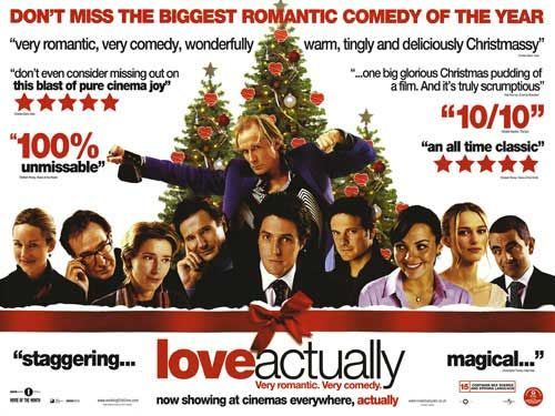 "poster for ""Love Actually&quot"