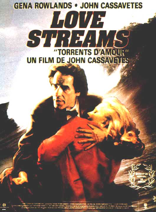 "poster for ""Love Streams"" by John Cassavetes(1984)"