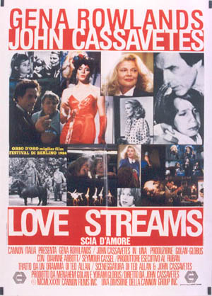 "poster for ""Love Streams&quot"