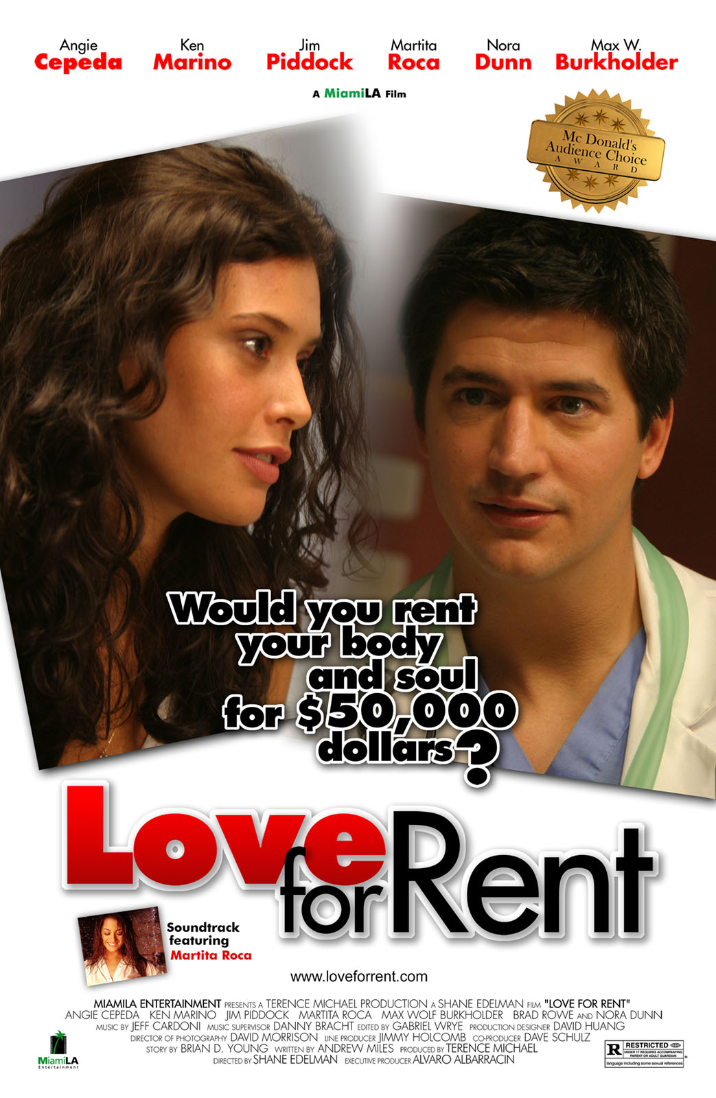 "poster for ""Love For Rent"" by Shane Edelman(2005)"