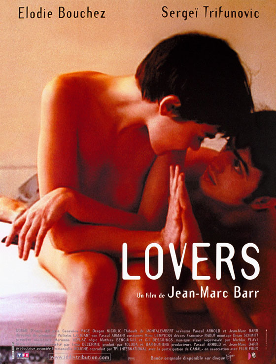 "poster for ""Lovers"" by Jean-Marc Barr (1999)"