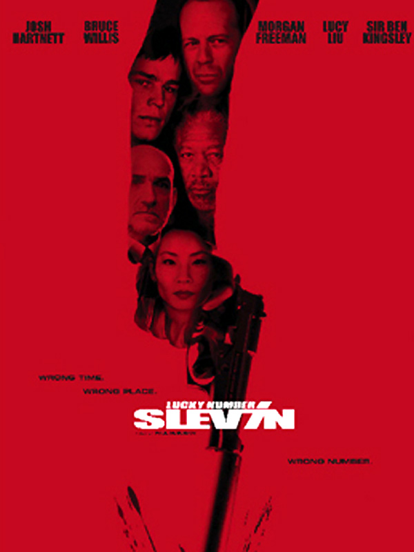 "poster for ""Lucky Number Slevin&quot"