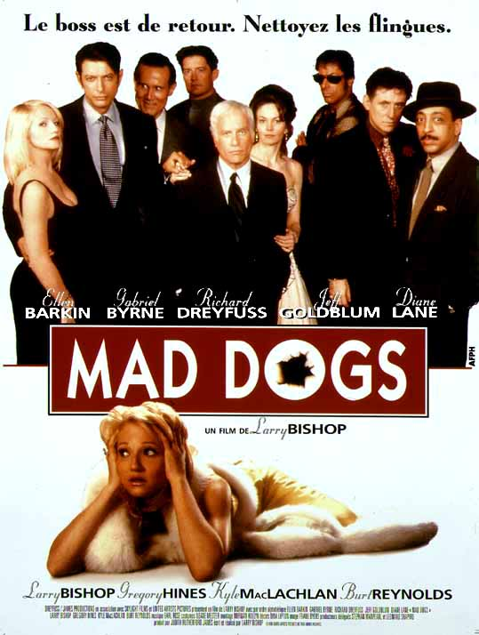 "poster for ""Mad dog time"" by Larry Bishop(1996)"