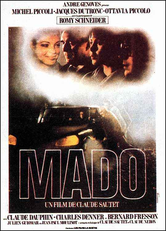 "poster for ""Mado"" by Claude Sautet(1976)"