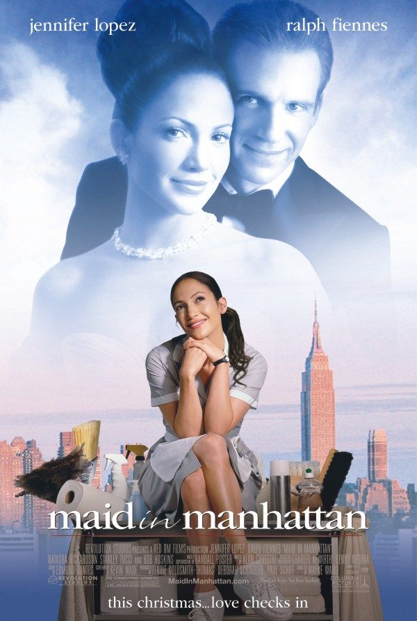 "poster for ""Maid in Manhattan"" by Wayne Wang(2002)"
