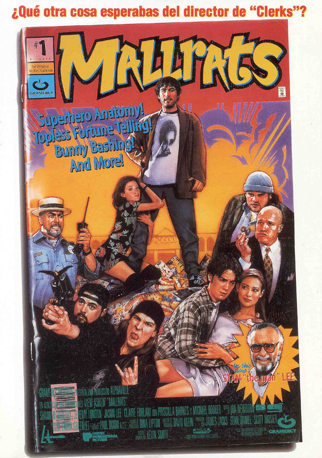 "poster for ""Mallrats"" by Kevin Smith (1995)"