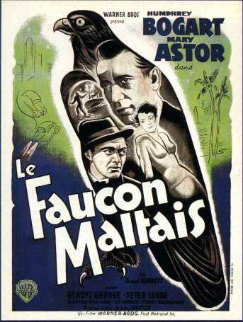 "poster for ""Maltese falcon, The&quot"