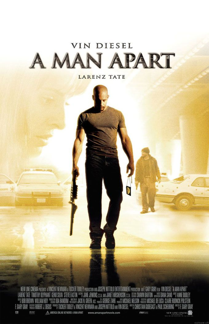 "poster for ""Man Apart, A"" by F. Gary Gray(2003)"