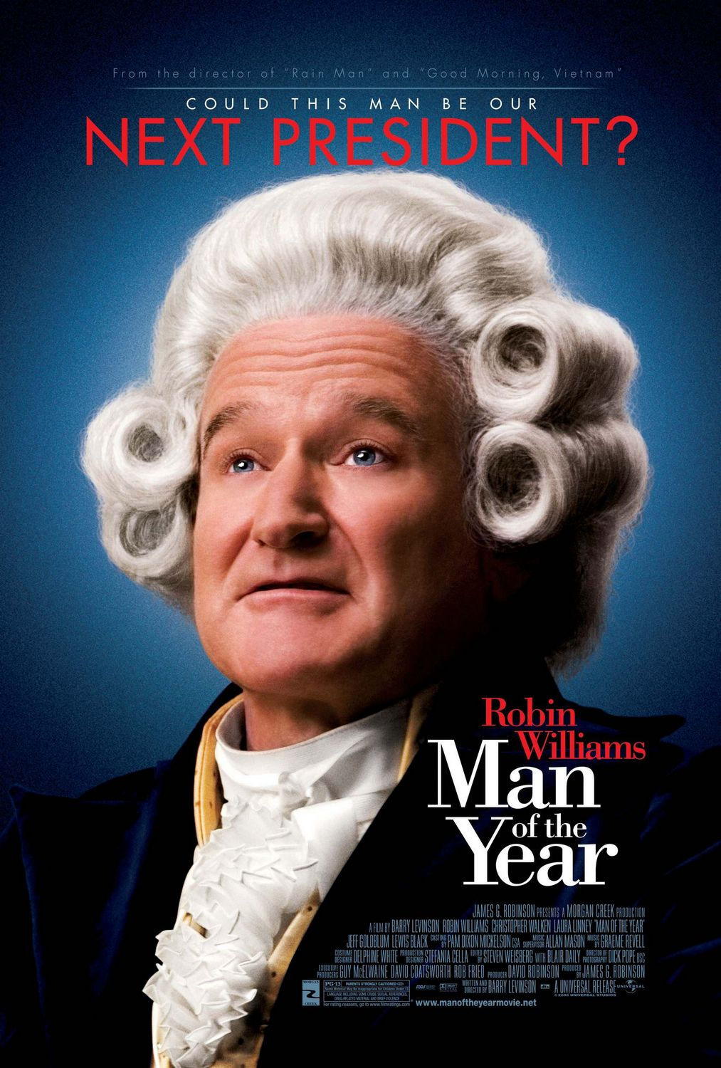 "poster for ""Man of the Year"" by Barry Levinson(2006)"