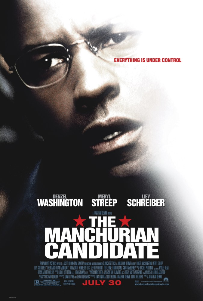 "poster for ""Manchurian Candidate, The"" by Jonathan Demme(2004)"