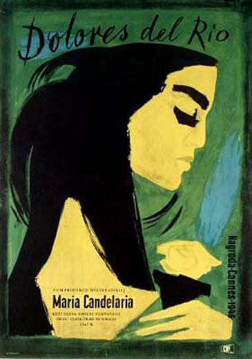 "poster for ""Maria Candelaria&quot"