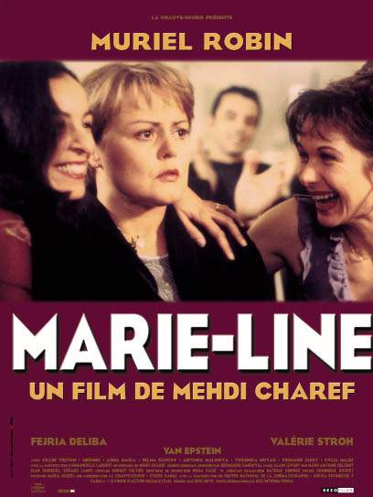 "poster for ""Marie-Line"" by Mehdi Charef (2000)"