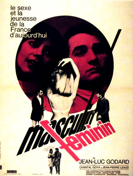 "poster for ""Masculin, f�minin&quot"