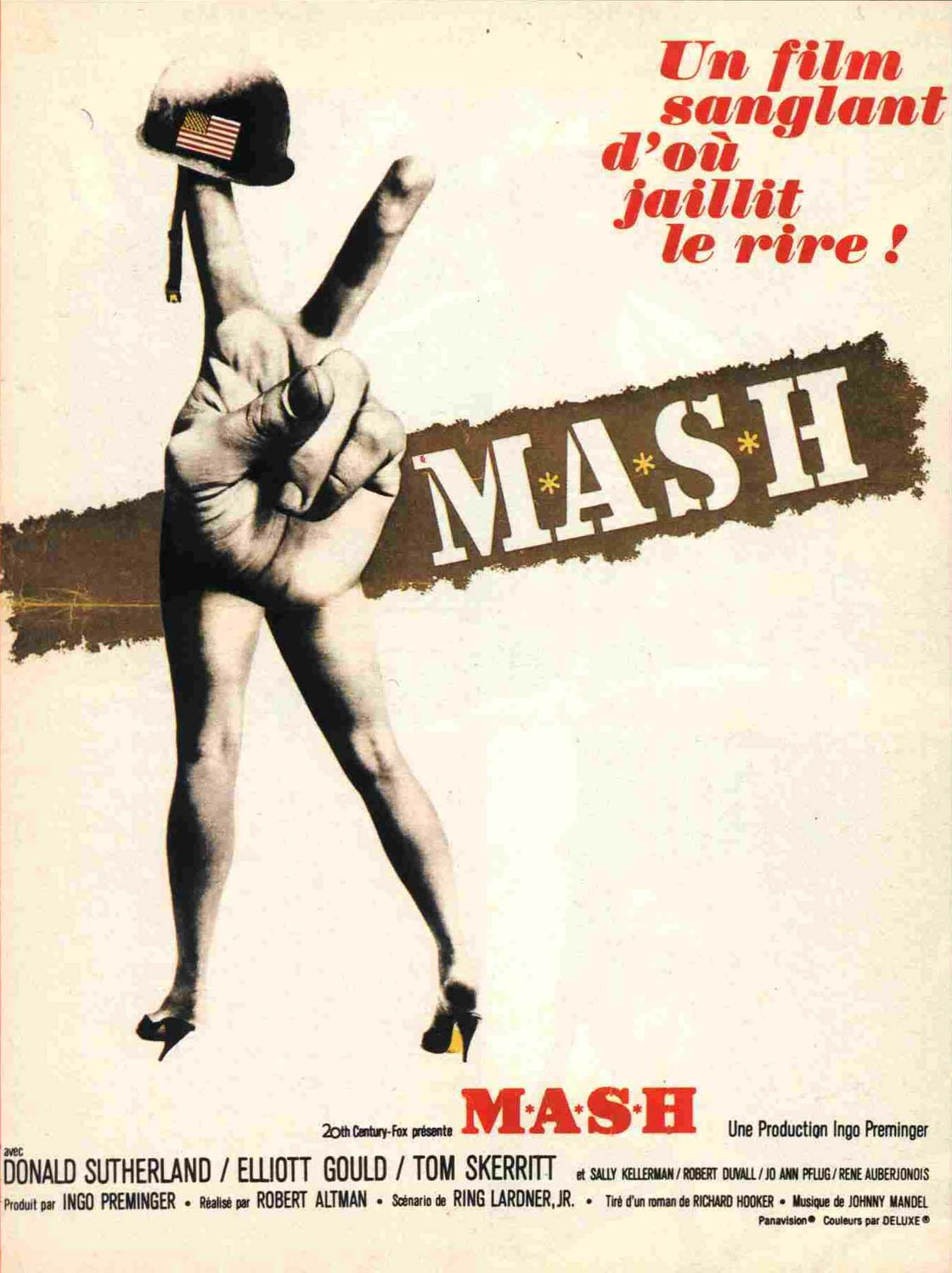 "poster for ""MASH"" by Robert Altman(1970)"